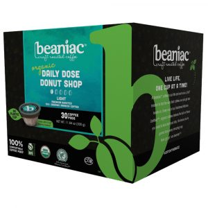 beaniac Daily Dose Donut Shop Coffee Pods